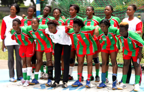 Handball coupe d 39 afrique des clubs champions dames l 39 africa sports en quart de finale - Coupe d afrique handball ...
