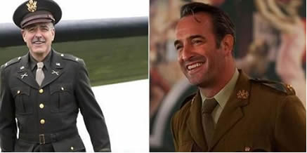 George clooney dujardin m 39 a fait hurler de rire for Dujardin height