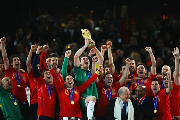 Espagne - Vainqueur coupe du monde 2010 ...