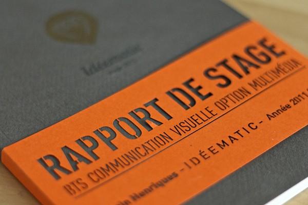 Rapport de stage exemple de plan d taill intro partie for Rapport de stage en cuisine exemple