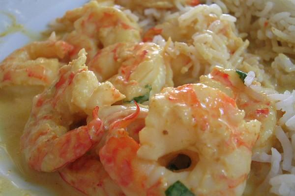 Aufeminin crevettes au curry express for Abidjan net cuisine tantie rose