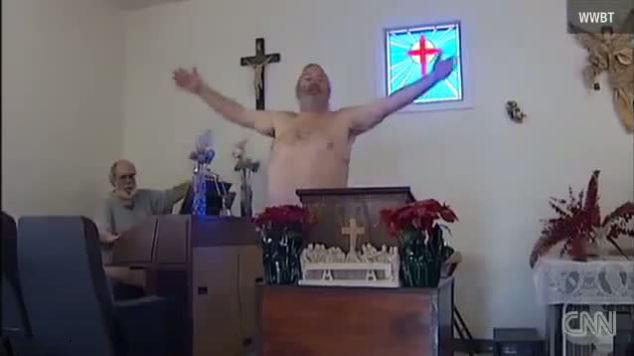 Montréal : Danse érotique d'homosexuels dans une église ! Il faut faire réparation de ce sacrilège 139219889720140212-1