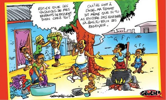 Drôles de vacances.   Lebabi.net Abidjan - Côte d'Ivoire