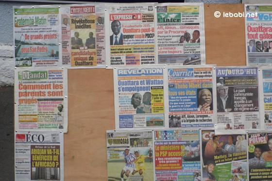 Laurent gbagbo continue d 39 occuper la une de la presse for Abidjan net cuisine ivoirienne