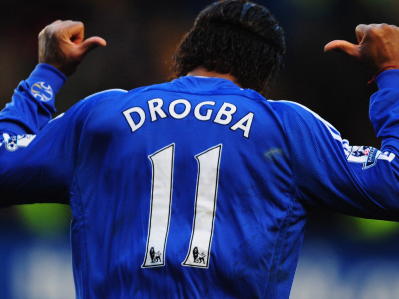 chelsea didier drogba reprend son num ro porte bonheur abidjan c te d 39 ivoire. Black Bedroom Furniture Sets. Home Design Ideas