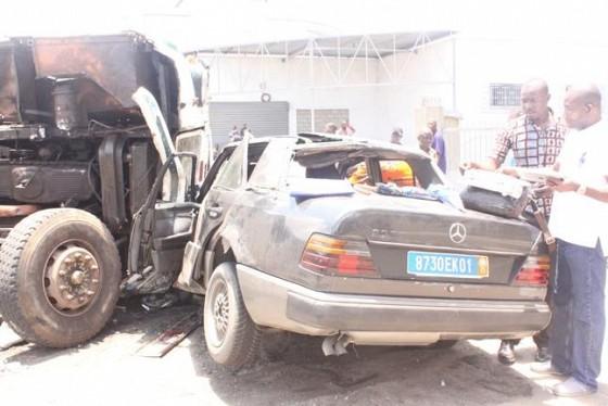 Côte d'Ivoire: Collision entre une voiture personnelle et ...