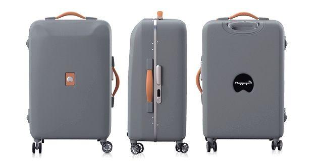 pluggage delsey d voile un concept de valise connect e. Black Bedroom Furniture Sets. Home Design Ideas