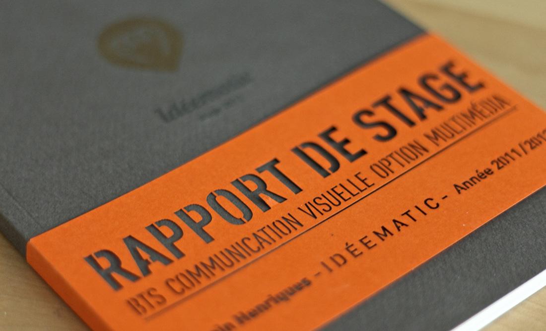 Rapport De Stage Exemple De Plan Détaillé Intro Partie