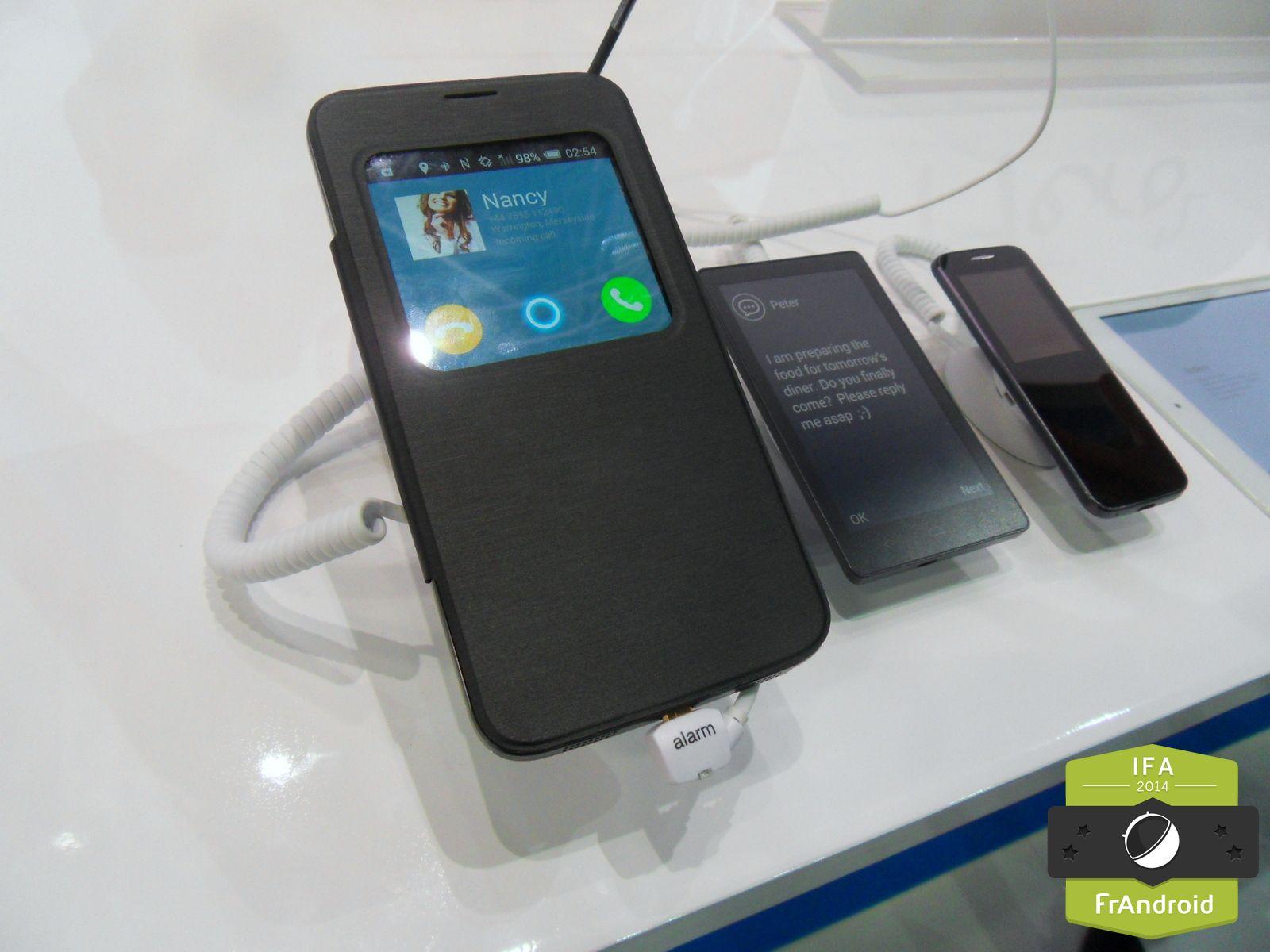 alcatel hero 2 un smartphone 6 pouces avec stylet dot d. Black Bedroom Furniture Sets. Home Design Ideas