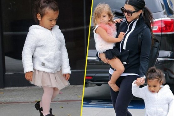 Penelope et north west trop craquantes en tutus kourtney for Abidjan net cuisine tantie rose