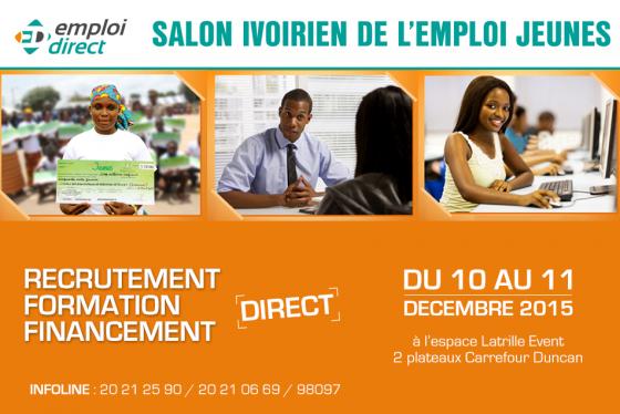 Premi re dition du salon ivoirien de l 39 emploi jeune for Salon du recrutement