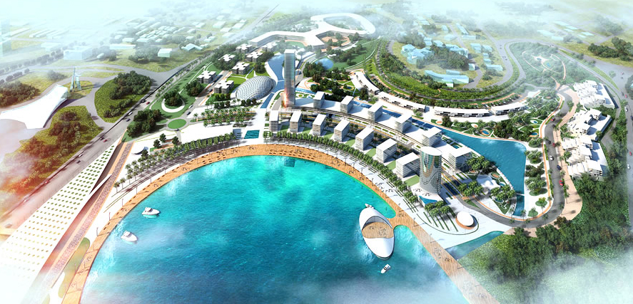 La baie de cocody futur 39 39 joyaux architectural 39 39 d 39 abidjan abidjan c te d 39 ivoire - Cabinet d architecture abidjan ...