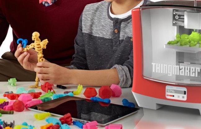 Mattel une imprimante 3d pour fabriquer ses jouets la for Imprimante 3d pour maison