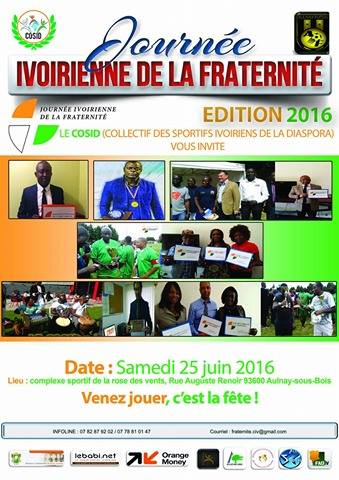 Journ e ivoirienne de la fraternit dition 2016 lebabi for Abidjan net cuisine tantie rose