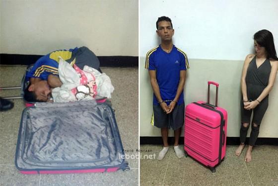 Elle cache son copain dans sa valise pour tenter de le for Abidjan net cuisine tantie rose