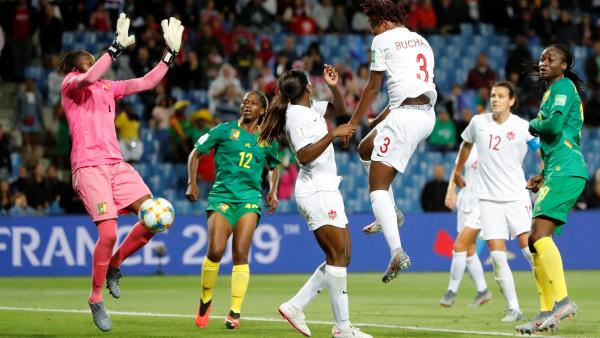 CdF/Football: le Cameroun s'incline devant le Canada (0-1)