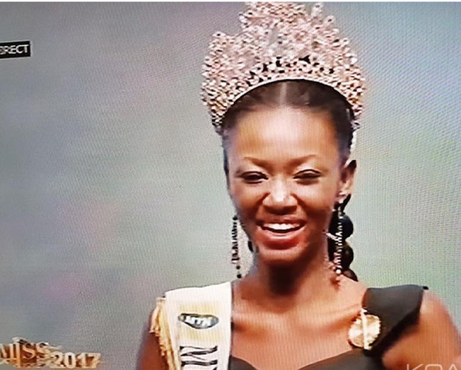 Miss Côte d'Ivoire 2017: Mandjalia Gbané nouvelle reine de la beauté ivoirienne