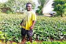 Togo: diplômé en comptabilité, par manque d'emploi, il excelle dans le maraîchage