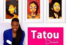 Tatou Dembele, l'artiste peintre ivoirienne qui fascine au Canada