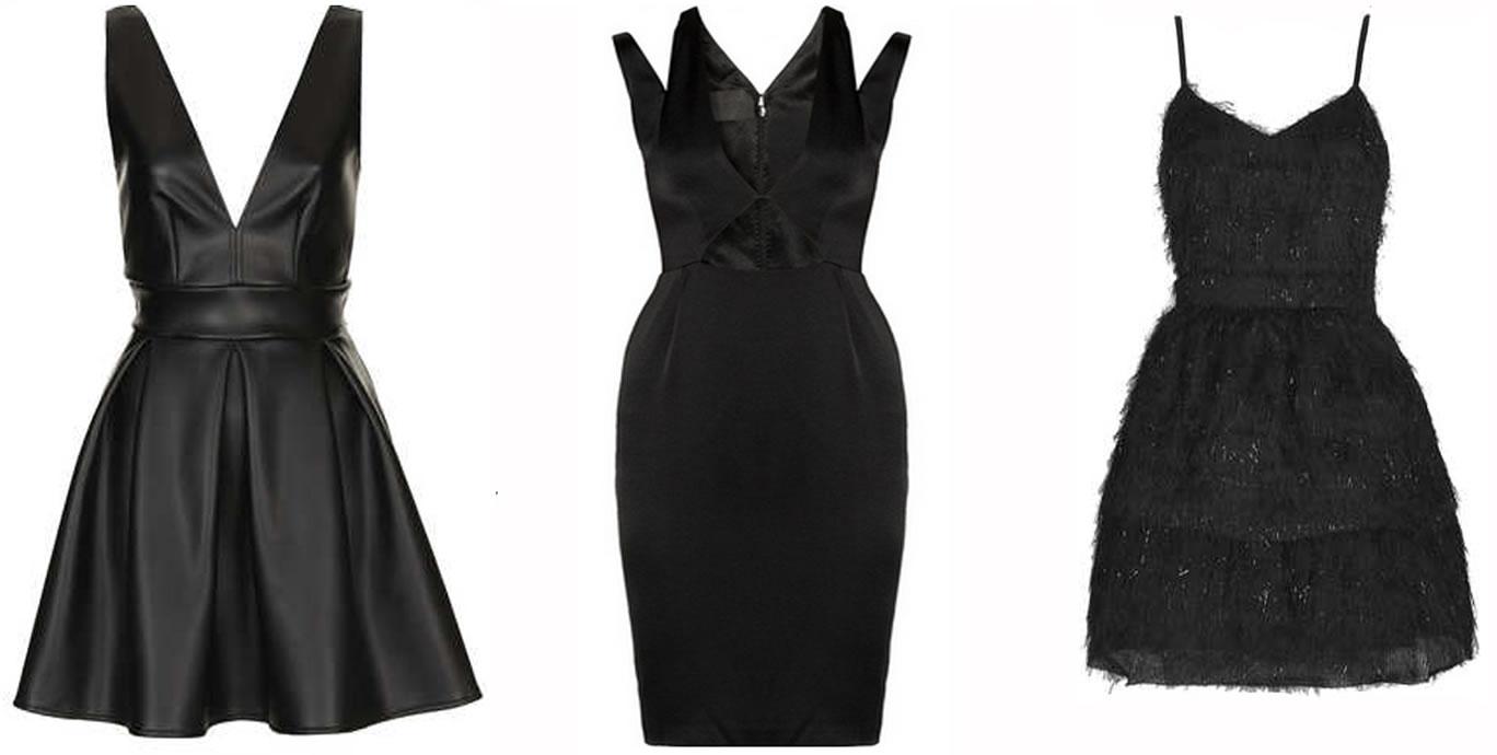 Comment porter une robe noire pour une soiree
