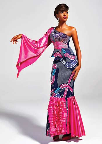 modele couture ivoirienne