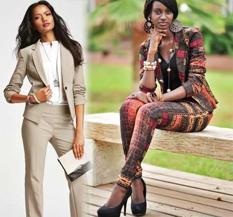 Belle en tailleur pantalon | Lebabi.net Abidjan - Côte d